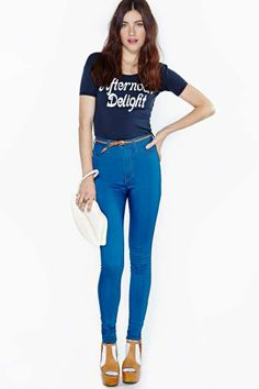 Perfect Ten Skinny Jeans - True Wash