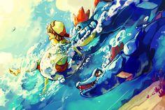 Pokemon : Surf by Sa-Dui.deviantart.com on @deviantART