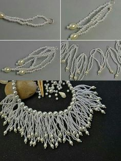 Example of a lot of simple making a complex look ~ Seed Bead Tutorials