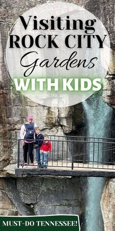 Your complete guide to visiting Rock City Gardens, in Tenneesee, with Kids! Including: homeschool lessons, bringing baby and kid-friendly fun. #Tennessee #FamilyTravel #VacationPlanning #TravelingWithKids