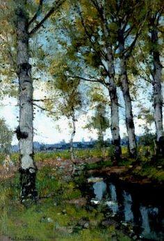 Johannes Petrus Paulus 'Paul' Bodifée (Deventer 1866-1938) Berken