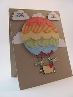 Unique ballon card