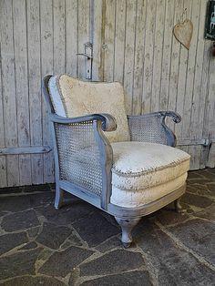 a42f2c7216a079  chalkpaintfurniture  chalkpaint Vintage Sessel - Vintage Sessel  Chippendale + shabby - ein Designerstück von Gerne wieder bei DaWanda