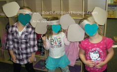 Day 1: We made elephant headbands and learned all about the elephant ears and how they use them for so many things.