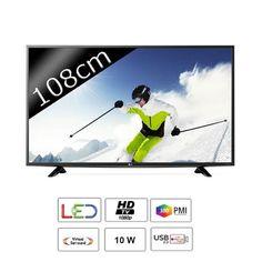 "329.99 € ❤ Le #BonPlan pas cher - #LG 43LF5100 #TV LED Full HD 108 cm (43"") 300Hz ➡ https://ad.zanox.com/ppc/?28290640C84663587&ulp=[[http://www.cdiscount.com/high-tech/televiseurs/lg-43lf5100-tv-led-full-hd-108cm-43-300hz/f-1062613-lg43lf5100.html?refer=zanoxpb&cid=affil&cm_mmc=zanoxpb-_-userid]]"