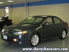 Pre-Owned 2006 Acura TSX 2.4L 4-door Sedan w/ Navigation For Sale | Stock# A03920 | Washington DC, Rockville, Gaithersburg, Bethesda MD
