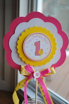 NEW Pink Lemonade XL Birthday Banner by mlf465 on Etsy