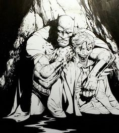 Batman and The Joker by Greg Capullo *