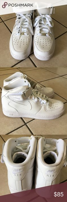 NWT Nike Air Force 1 Men size 10.5 New with out box and has flaws, pls check pictures carefully it has some slight dirt on it. Offers are welcome Nike Shoes Sneakers