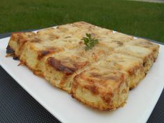 GÂTEAU DE POMMES DE TERRE Quiche, Barbecue, Entrees, Food And Drink, Pizza, Cheese, Fondant, Breakfast, Gallery
