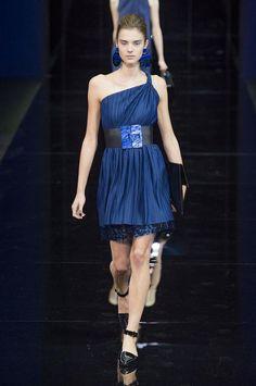 +++ Blue / Blue / Blue +++ Emporio Armani + Spring / Summer 2015 +++ #Emporio #Armani #summer #blue #2015 #fashion #moda #Mode #ファッション #الأزياء #패션 #时尚 #isazatips