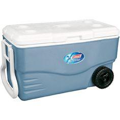 Amazon.com : Coleman 100 Quart Xtreme 5 Wheeled Cooler : Ultimate Extreme Wheeled Cooler : Sports & Outdoors