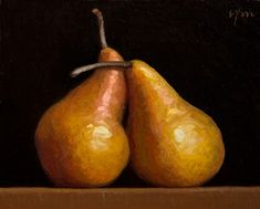"""Abbey Ryan makes """"A Painting a Day"""" and you can follow along. Low Key Lighting, Pear Fruit, Painting Workshop, Dream Art, Artist Painting, Watercolor Paintings, Pin Up Art, Still Life Photography, Fine Art Gallery"""