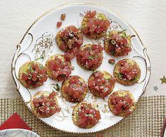 Spicy Sesame Tuna Tartar