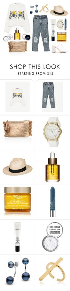 """[2017] 006"" by erenthae ❤ liked on Polyvore featuring Loeffler Randall, Tommy Hilfiger, Roxy, Clarins, Kiehl's, Clinique, MAC Cosmetics, Obsessive Compulsive Cosmetics and Schield Collection"