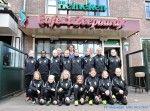 Meiden FC Medemblik MD2 in nieuwe trainingspakken