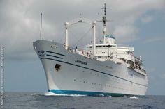 Sailed the Atlantic on the M/V Anastasis