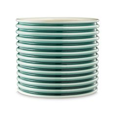 Rilleskål i porcelæn