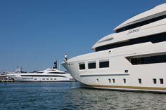 61m CRN 133 SARAMOUR yacht leaves CRN shipyard in Ancona