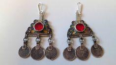 Old Berber Moroccan original tribal silver enamel door tribalgallery