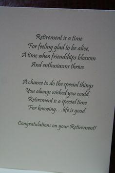 Retirement Greeting Card Greeting
