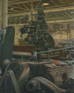 Machine Tools for Russia - Charles Ginner - The Athenaeum