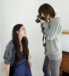 Yū Aoi and Bae Doo-na / 蒼井優とペ・ドゥナ (L-R)