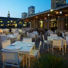 La Mar Restaurant outdoor seating. San Francisco. See other picture for this to see reviews.