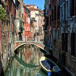 Venice - Italy #venice #venezia #venedig #italia #italy #europe #city #cityscape #canal #buildings #water #waterscape #old #historic #travelling #travel #traveling #tourism #vacation #aida #aidabella