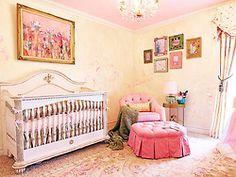 Girl's pink nursery
