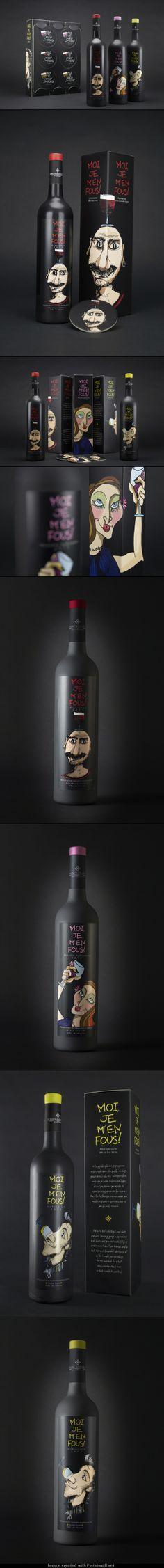 MOI JE M 'EN FOUS! Wine Series for DOMAINE MESSENICOLAS
