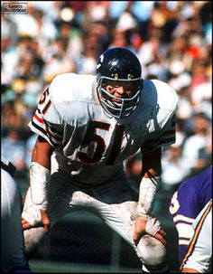 Dick Butkus. Love his name and his game