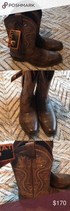 Ariat Men's Lawless Rustic Boot Brand New Ariat Men's Lawless Rustic Boot size 9.5. Never worn. Received as a gift and unable to return. Smoke-free home Ariat Shoes Cowboy & Western Boots
