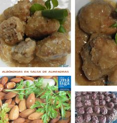 La cocina malagueña-Alsurdelsur: Albóndigas de carne en salsa de almendras