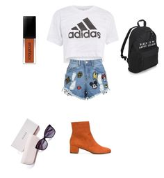 """""""Untitled #12"""" by emmaca-varga on Polyvore featuring Topshop, Disney Stars Studios, L'Autre Chose and GUESS"""