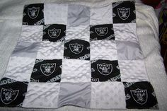 LA Raiders NFL Football Team  Baby  Boy Snuggle by sososophie, $25.00