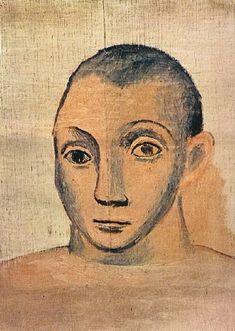 Pablo Picasso (Esp. 1881-1973) Self portrait (1940)