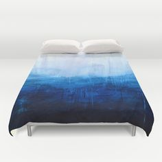 All+good+things+are+wild+and+free+-+Ocean+Ombre+Painting+Duvet+Cover+by+Prelude+Posters+-+$99.00