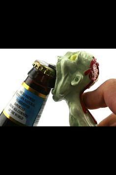 Zombie bottle opener!