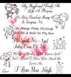 #treatsmelikeprincess #boyfriend  #quotes #love #girlfriendthings #cute #rizlovesnash