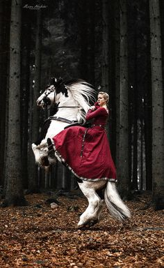 Fantastic Fantasy Images Of A Woman & Her Horse
