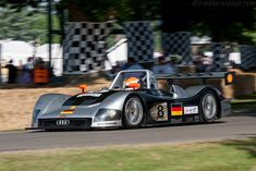 Audi R8R (Chassis 308 - 2009 Goodwood Festival of Speed) High Resolution Image
