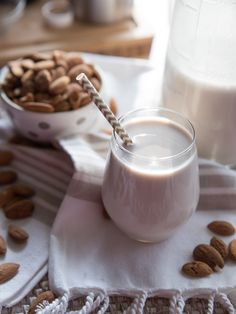 Vanilla Almond Milk // Tried and Tasty for Blendtec