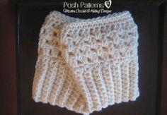 free boot cuffs crochet pattern