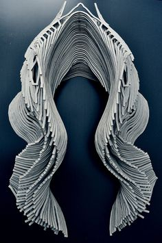 seam(less)_ [Ay]A Collection typology 01 by Jorge Ayala Form Architecture, Parametric Architecture, Parametric Design, Organic Architecture, Futuristic Architecture, Organic Sculpture, Arch Model, Digital Fabrication, Organic Shapes