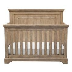 Simmons Kids SlumberTime Paloma 4-in-1 Convertible Crib - Rustic Whitewash