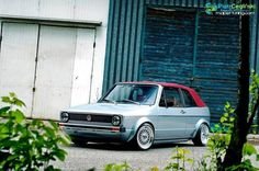 vw golf mk1 cabriolet Volkswagen Golf Cabriolet, Golf 1 Cabriolet, Vw Golf Cabrio, Volkswagen Golf Mk1, Vw Scirocco, Good Looking Cars, Vw Cars, Custom Cars, Convertible