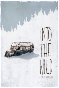 Hacia rutas salvajes, en inglés Fotografía en AllPosters.es