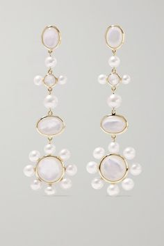 Star Astral Quartz Earrings Crystal Earrings Astrology Bohemian Jewelry Electroplated