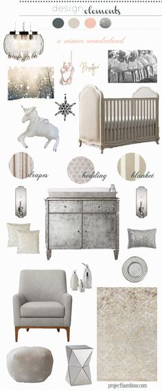 soothing soft and elegant #nursery